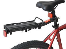 Quick Release Alloy Seatpost Mounted Carrier Pannier Rack MTB Bike Bicycle Black