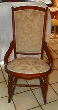 Victorian Walnut Hip Hugger Sewing / Nursing Rocker / Rocking Chair  (R227)