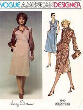 1970's VTG VOGUE Dress,Jumper Jerry Silverman Pattern 1580 Size 12 UNCUT