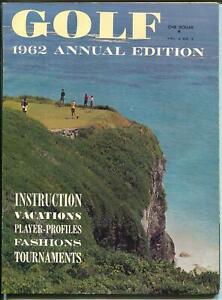 Golf Annual 2/1962-tournaments-instruction-Billy Casper-Gary Player-FN
