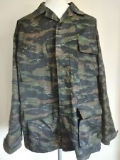 Hot Weather Tiger Stripe Camouflage Jacket M Army
