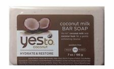 Yes to Coconut Hydrate & Restore Coconut Milk Bar Soap, 7 oz