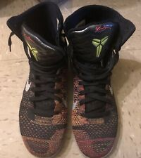 "check out dc0c3 b0a4a Nike Kobe 9 Elite High ""Masterpiece"" Good condition Size 10 100% Authentic  Air"