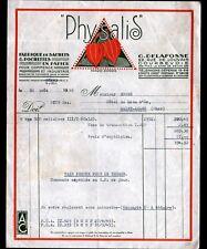 """COURBEVOIE (92) USINE de SACHETS POCHETTES papier PHYSALIS """"G. DELAFOSSE"""" 1946"""