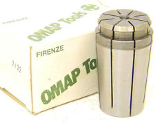 "NEW SURPLUS OMAP 7/32"" TG100 SINGLE ANGLE COLLET .2187"" TG-100"