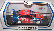Warren Luff 2006 Britek Fujitsu Ford BA Falcon V8 Supercar 1:64 New