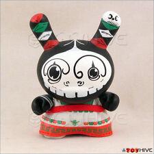 "Kidrobot Dunny 2007 Azteca Series 1 vinyl Jenkah 3"" figure China Poblana loose"