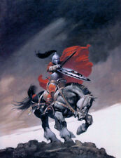 """Authentic Frank Frazetta Print """"OUTLAW OF THORN"""" #95  13 X 19"""""""