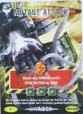 DR WHO INVADER CARD 470 MUTANT ATTACK - MINT !!