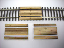 HO Scale ** Laser Cut ** Custom Single Lane Crossing 3 Pack