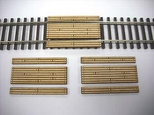 HO Scale ** Laser Cut ** Custom Single Lane Crossing 3 Pack
