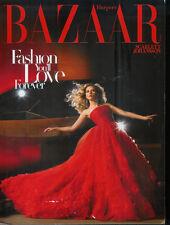 SCARLETT JOHANSSON 2009 Harpers Bazaar magazine cover/photos/article