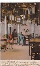K 796 - China, Opium - Shop, gelaufen