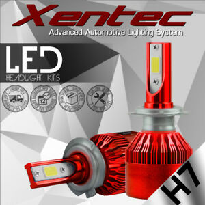 2017 NEW H7 388W 38800LM LED CAR HEADLIGHT KIT BULBS 6000K REPLACEMENT HID XENON