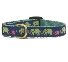 Up Country Leader Of The Pack Elephant Cat Collar Size 12 Preppy