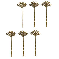 57pcs//set Blank Snap Hair Clip Hair Bow Findings Jewellery Making Crafts