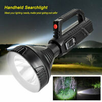 Super Bright Outdoor LED Searchlight Rechargeable Handheld Spotlight Flashlight