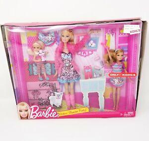 Barbie Sisters Slumber Party Dolls Accessories 2010 Kohl's Exclusive Mattel