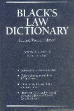 Black's Law Dictionary Pocket by Bryan A Garner