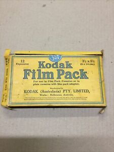 VINTAGE KODAK FILM PACK. 1931