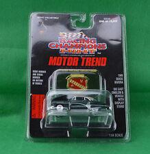 Racing Champions Mint Motor Trend 1949 Buick Riviera #122 Dark Green 1997 Emblem
