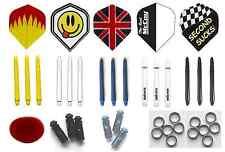 Darts Accessory Pack Set. Flights. Unicorn Shafts. Flight Protectors. Wax  (3)