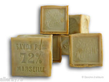 Famous traditional French  pure soap Savon de Marseille 72% oils 300gr  garden