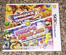PUZZLE & DRAGONS Z + SUPER MARIO BROS. EDITION Nintendo 3ds brothers *BRAND NEW*