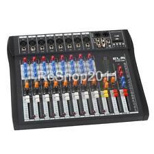 CT80S-USB 8 Channel Live Studio Audio Mixer Mixing Console Phantom Power US