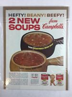 Vintage 1961 Campbell's Soup Food Art Print Collectible Advertisement 10 x 13.5