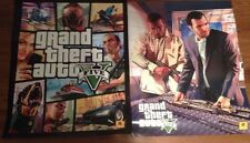 Lot Of (2))Grand Theft Auto V First Release Promo 2- Sided Poster 28X22