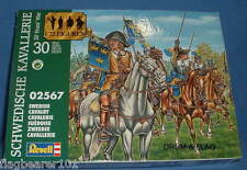 REVELL 02567. SWEDISH CAVALRY - THIRTY YEARS WAR 1/72 SCALE. 15 FIGURES.