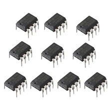10Pcs UA741CN DIP-8 UA741 LM741 ST IC Chip Operational Amplifiers