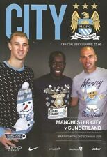 Premiership Manchester City Teams L-N Football Programmes