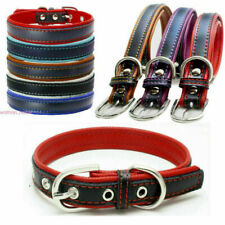 New Adjustable Leather Pet Dog Collar for Pet Cat Puppy Personalized