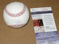 Jim Thome Autographed Baseball JSA Certified
