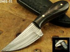 """ALISTAR 4.3"""" MINI HANDMADE DAMASCUS STEEL SKINNER/HUNTING KNIFE (2401-31"""