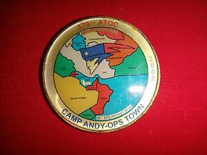 USAF 379th ATOC CAMP ANDY-OPS Town AL UDEID AIR BASE, Qatar 2002 Challenge Coin