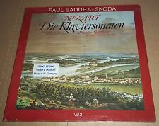 Paul Badura-Skoda MOZART Piano Sonatas Vol.2 - Eurodisc 2LP 300 345-420 SEALED