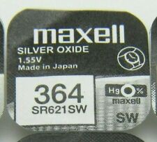 Maxell Watch Battery 1.55v Batteries Model - 364 - SR621SW UK SELLER