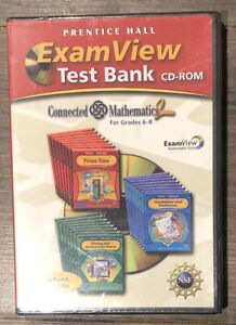 TN1- Prentice Hall Exam View Test Bank Connected Mathematics For Grade 6-8 CD