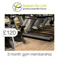 £120 Charitable Donation For: 3 month gym membership at Holiday Inn