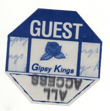 Gipsy Kings 1999 Tour Satin Guest Backstage Pass