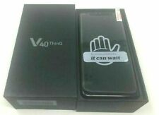LG V40 ThinQ (Latest Model) LM-V405 64GB Black AT&T T-Mobile GSM Unlocked Phone