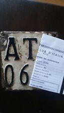 Lambretta 125 targa -1961- COLLEZIONE-