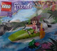 Lego Friends 30115 Olivia im Dschungelboot Neu 2014