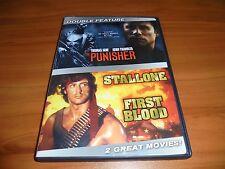 The Punisher/Rambo: First Blood (DVD 2007 Widescreen 2-Disc) John Travolta Used