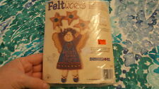 New Craft Kit Applique Feltworks Country Angel by Dimensions