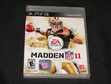 Madden NFL 11 (Sony PlayStation 3, PS3) - ***NEW***   FACTORY SEALED!!!