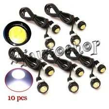 10X 9W LED Eagle Eye Light Car Fog DRL Daytime Reverse Backup Parking Signal 12V